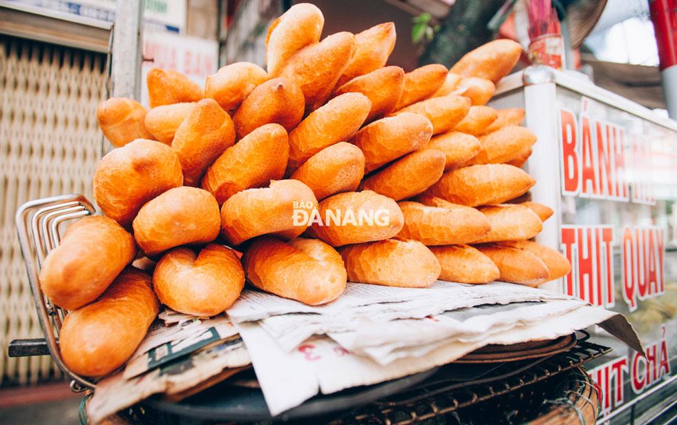 Những chiếc xe bán bánh mì