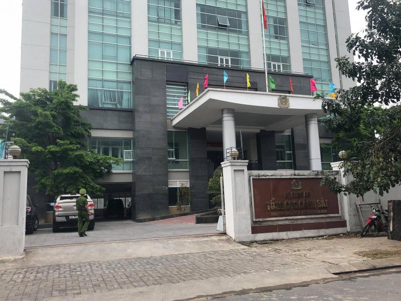 Các cựu cán bộ, cán bộ Đà Nẵng làm việc với Tổng cục Cảnh sát
