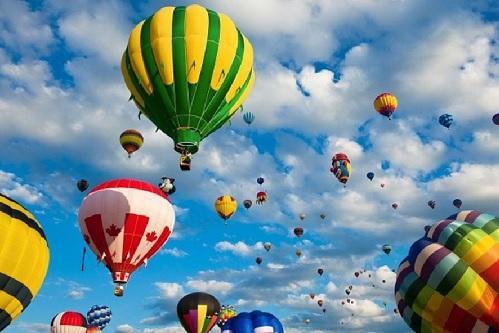 Lễ hội Khinh khí cầu Quốc tế Đà Nẵng 2018 sẽ diễn ra trong tháng 12/2018 (ảnh minh họa)