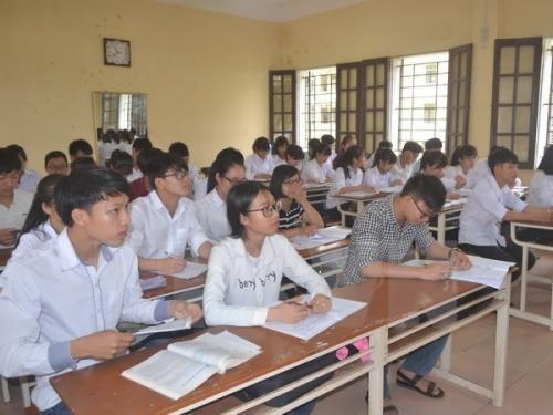 Đà Nẵng tổ chức thi thử cho hơn 11.000 học sinh lớp 12. Ảnh: TTXVN