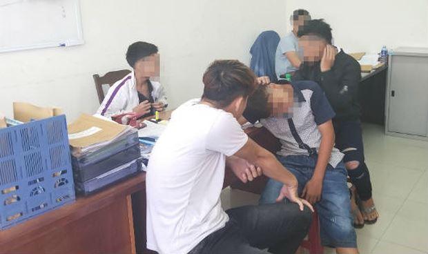 Băng nhóm cướp giật tài sản của du khách tại CQĐT