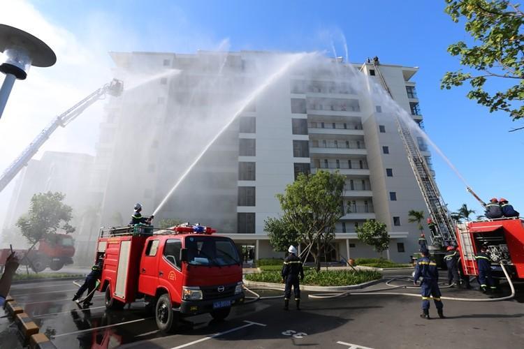 TP.Đà Nẵng luôn là địa phương tiềm ẩn nguy cơ cao về hỏa hoạn tại các khu nhà cao tầng.
