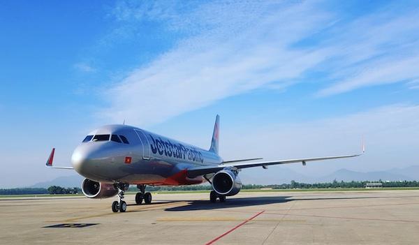 Máy bay Jetstar Pacific tại Đà Nẵng