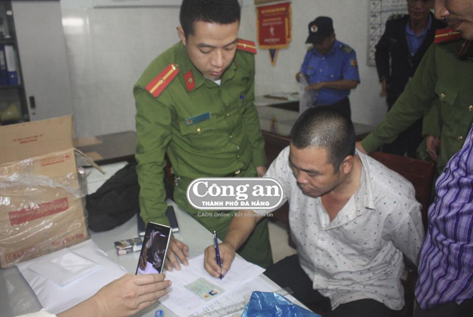 CAQ Cẩm Lệ bắt giữ đối tượng vận chuyển trái phép chất ma túy.