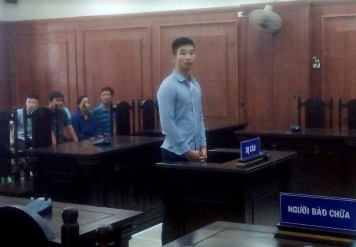 Bị cáo Phan Văn Rin tại phiên tòa.