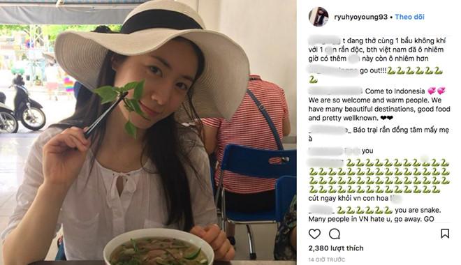 Fan Việt tức giận đuổi Hyoyoung về nước.