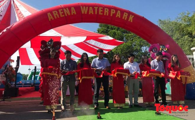 Khai trương Công viên nước mini Arena water park tại Đà Nẵng.