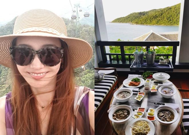 Han Chae Young giản dị khi du lịch tại Đà Nẵng.