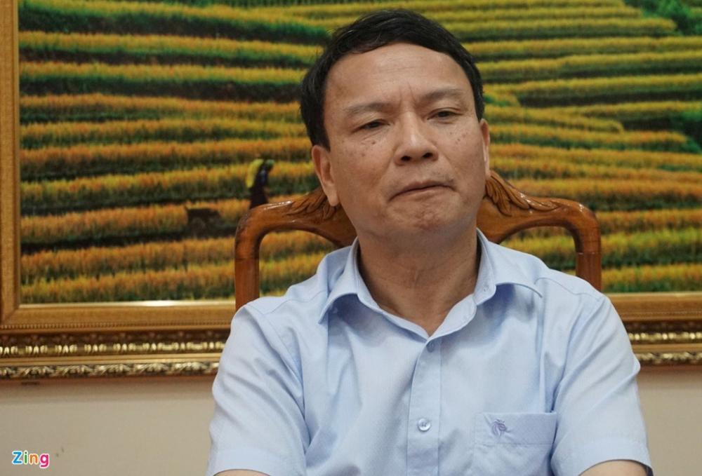Ông Trịnh Ngọc Dũng, Giám đốc Sở Lao động - Thương binh và Xã hội tỉnh Thanh Hóa, nói rằng cán bộ cơ sở đã sai sót trong bình xét hộ nghèo, cận nghèo. Ảnh: H.L.