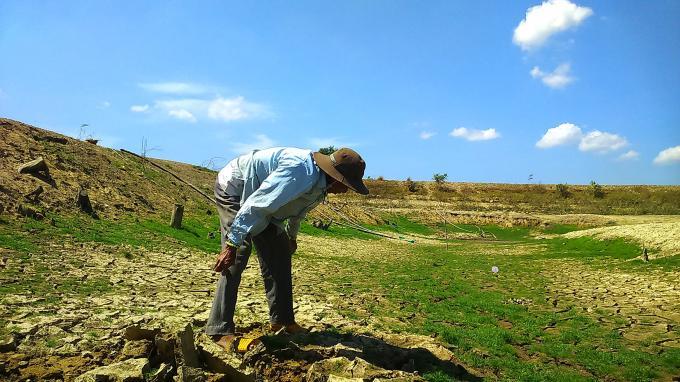 Bình Thuận đang bước vào giai đoạn đỉnh điểm mùa khô hạn.