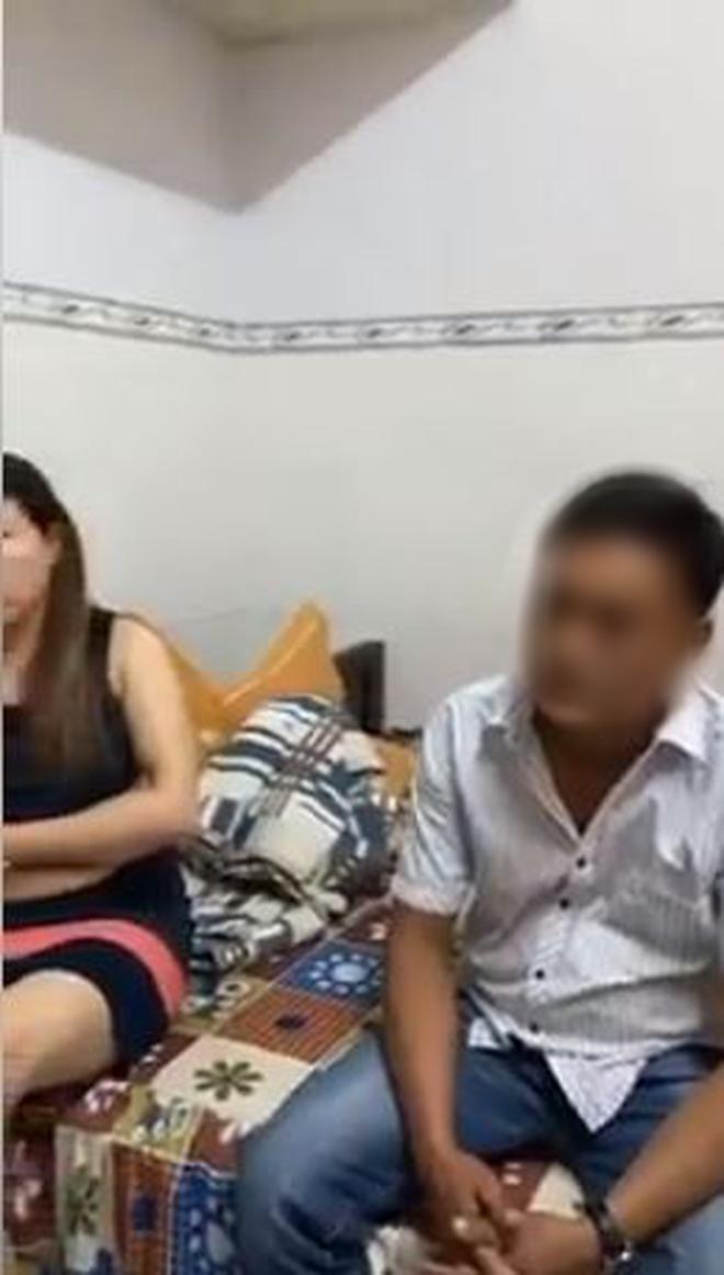 Người chồng bắt tại trận đôi nam nữ quan hệ bất chính.