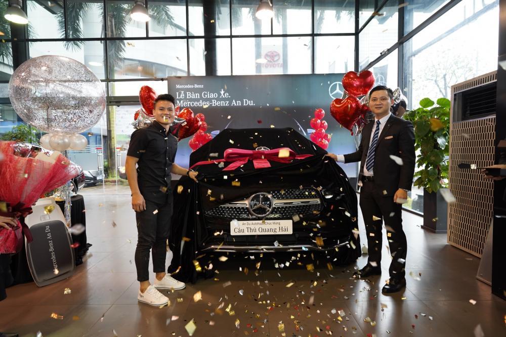 Chiếc xe này được Quang Hải mua từ tháng 3 năm nay
