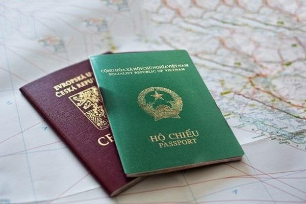 Hình ảnh cuốn hộ chiếu. (Ảnh: Pinterest)