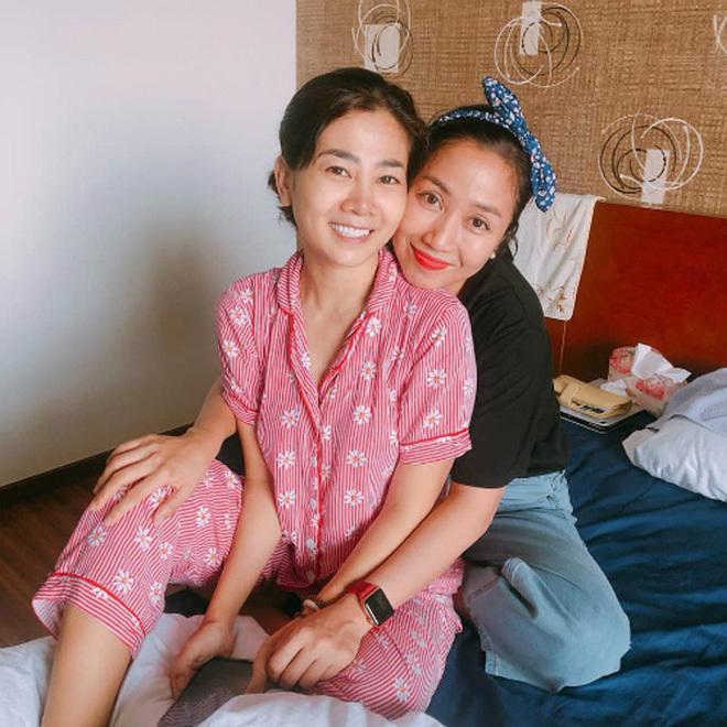 Lúc Mai Phương bị bệnh, Ốc Thanh Vân là người chị thân thiết bên cạnh để chiến đấu cùng