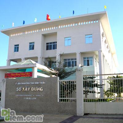 Sở Xây dựng tỉnh Ninh Thuận. Ảnh Diadiem.com