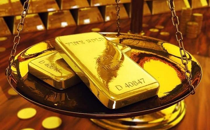 Giá vàng thế giới lại trên đà tăng mạnh vào 9/7. (Ảnh: Twitter)