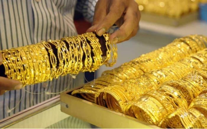 Vàng được bán ở một cửa tiệm. (Ảnh: VTC)