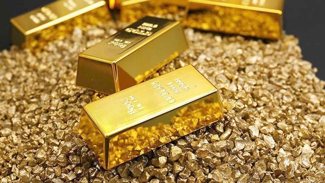 Vàng trên thị trường thế giới liên tục tăng mạnh. (Ảnh: Thể Thao & Văn Hóa)