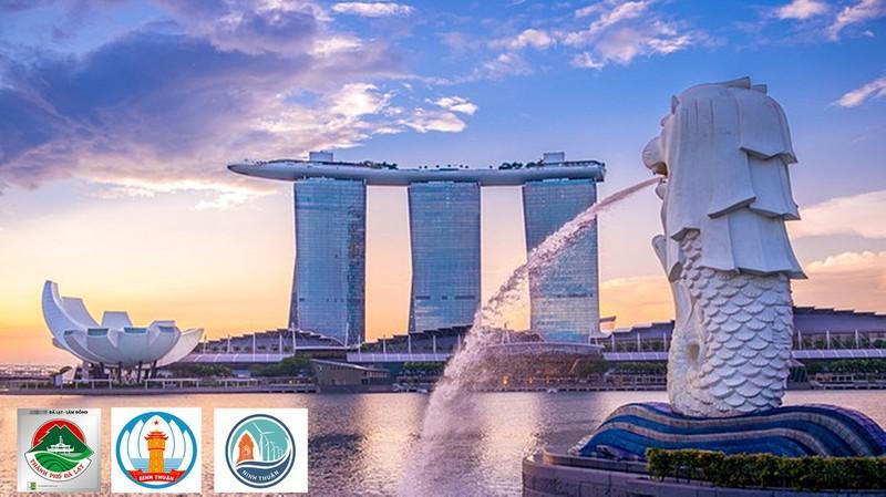 Hội nghị kết nối là cơ hội của doanh nghiệp Singapore và các tỉnh Lâm Đồng, Bình Thuận, Ninh Thuận.