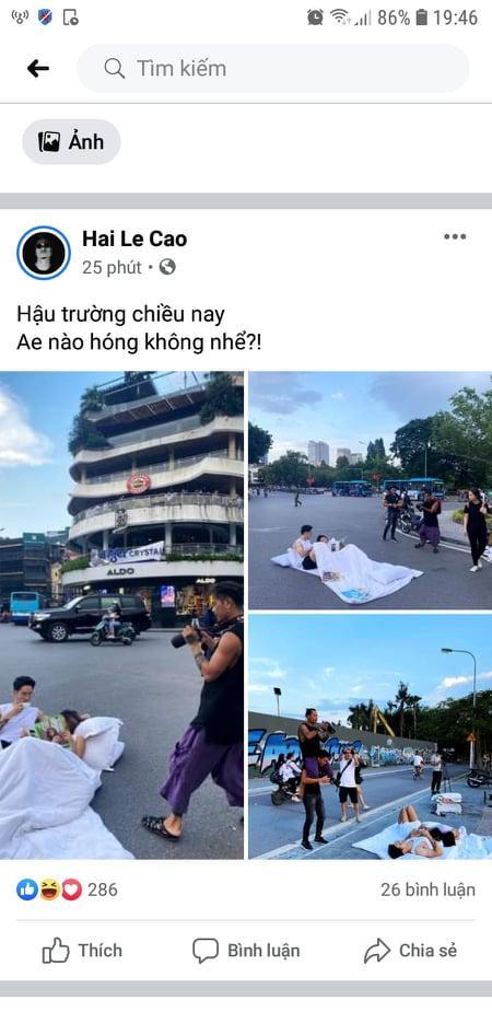 Bài đăng trên facebook cá nhân tên Hai Le Cao