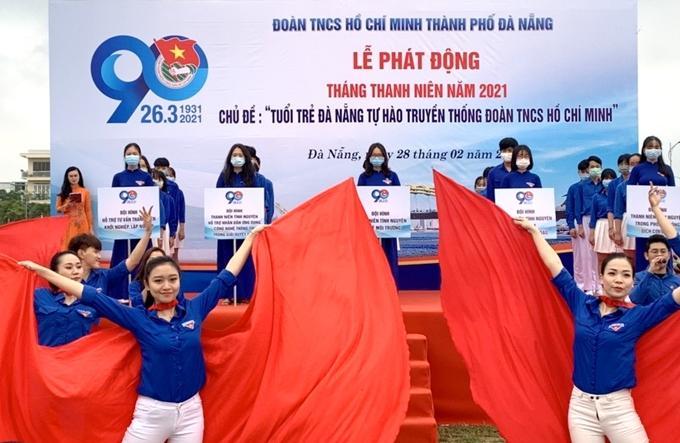 Tuổi trẻ Đà Nẵng đã bày tỏ quyết tâm thực hiện hiệu quả các công trình, phần việc của mình để góp phần vào sự phát triển của TP.