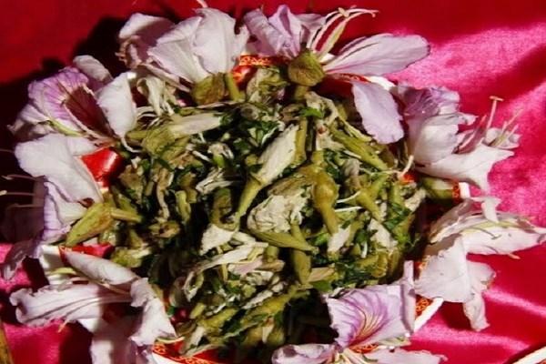 món ngon từ hoa ban