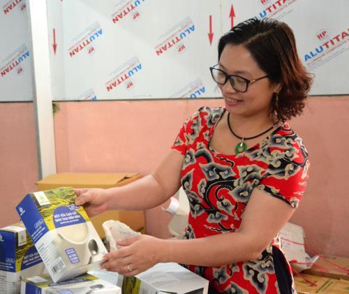 Chị Nguyễn Thị Lộc