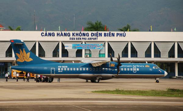 Ảnh minh họa: Cảng hàng không Điện Biên. Nguồn: Tiến Dũng