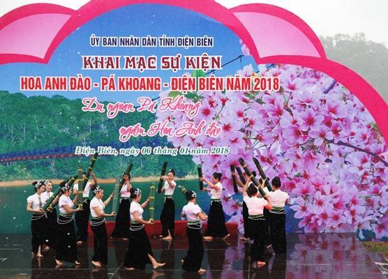 Chương trình nghệ thuật chào mừng giới thiệu nét văn hóa đặc sắc của Điện Biên....
