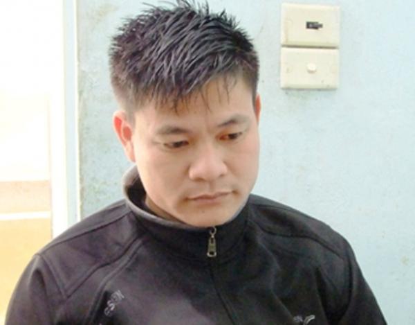 Đối tượng Phạm Văn Bắc tại cơ quan Công an.