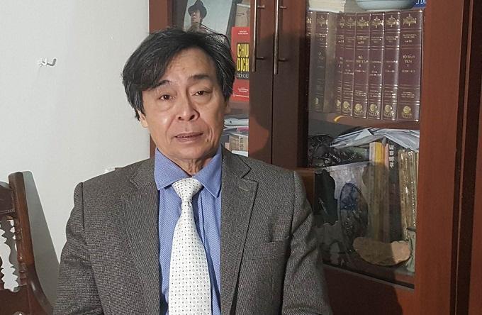 Nhà nghiên cứu Văn hóa dân gian Nguyễn Hùng Vĩ. Ảnh: Nhật Linh