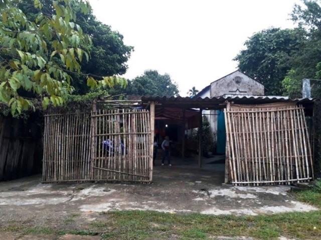 Căn nhà nhỏ gần chân đèo Pha Đin của gia đình cụ Nga.