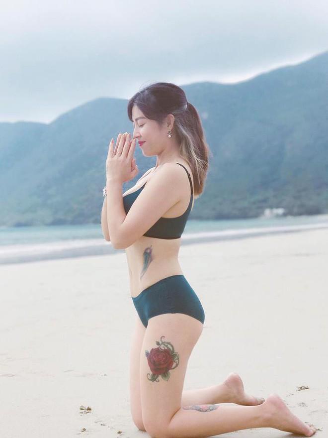 MC Hoàng Linh sở hữu thân hình thon gọn bất ngờ