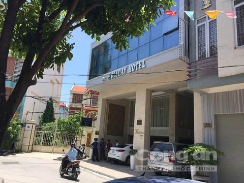 Holiday hotel nơi hai đối tượng bị bắt