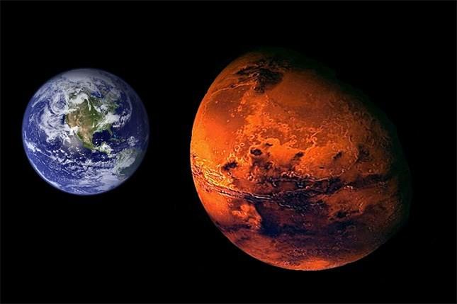 Sao Hỏa sẽ ở gần Trái đất nhất vào chiều nay.