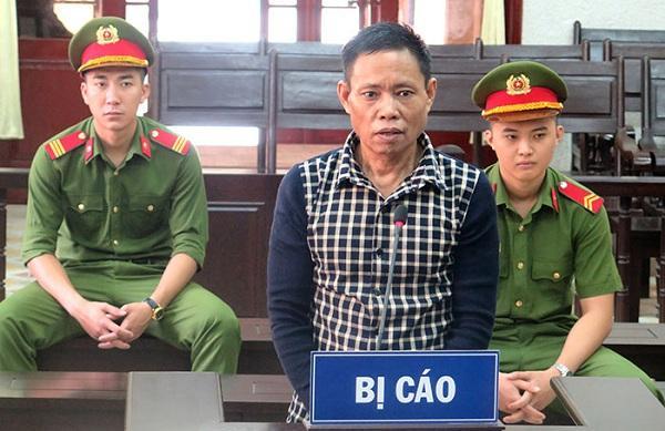 Bị cáo Xiêng Khên tại phiên tòa.