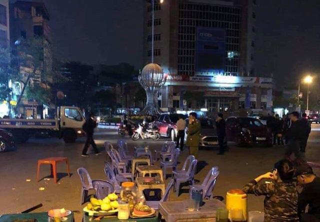 Khu vực Quảng trường Độc lập, nơi xảy ra vụ việc