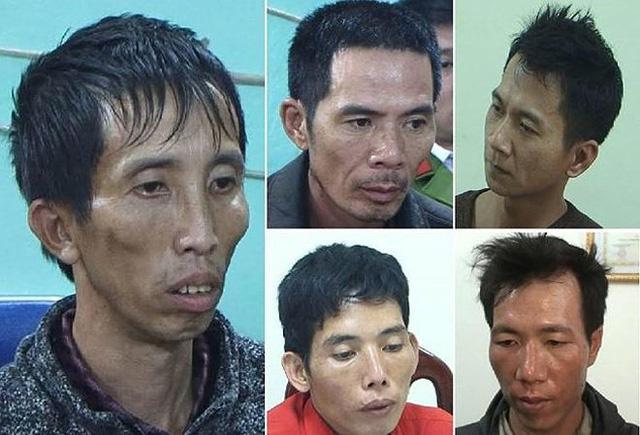 Chân dung 5 nghi phạm của vụ nữ sinh bị s.át hại khi đi giao gà vào chiều 30 Tết.