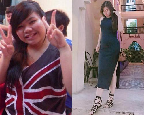 Thanh Thảo trong quá khứ là cô gái vừa mập, vừa đen