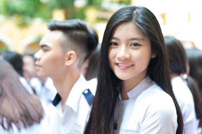 Thí sinh tham dự kỳ thi THPT quốc gia 2017.