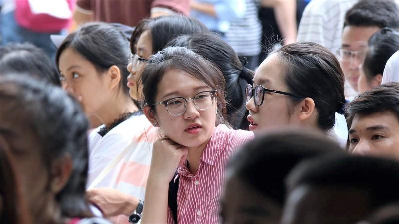 Những thí sinh tên Thư có mức điểm trung bình cao nhất cả nước trong kỳ thi THPT quốc gia 2017. Ảnh: Thanh Hùng.
