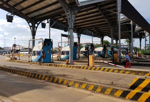 Trạm thu phí BOT tuyến tránh Biên Hòa giảm giá 20% từ ngày 1/11. Ảnh: Phước Tuấn.