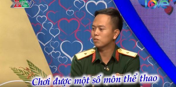 Điểm mạnh, điểm yếu của chàng Thiếu úy Nguyễn Hồng Thái. (Nguồn: Cắt từ video)