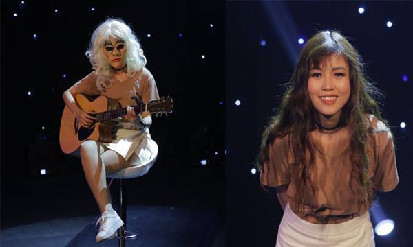 Cô gái xinh đẹp Hoài Thương.