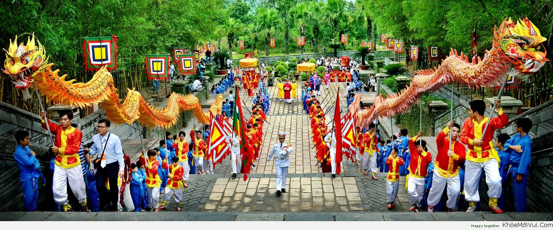 Giỗ Tổ Hùng Vương được coi là Quốc giỗ của nước Việt Nam, được tổ chức vào ngày 10/3 Âm lịch
