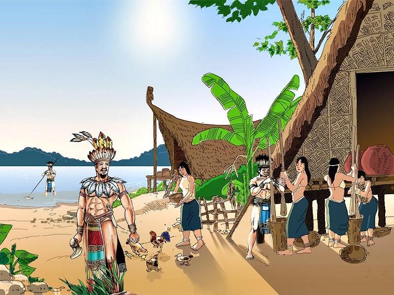 Hùng Vương, là cách gọi các vị vua nước Văn Lang của người Lạc Việt
