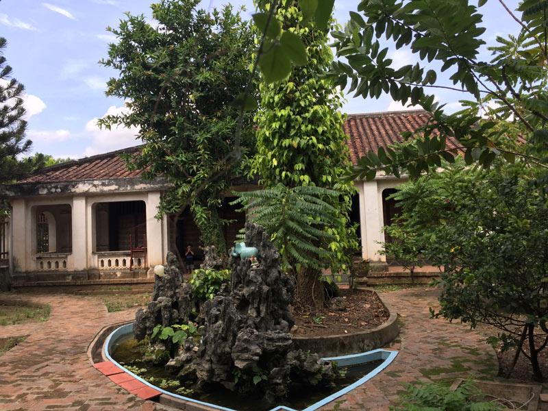 Mặt tiền nhà cổ Trần Ngọc Du.