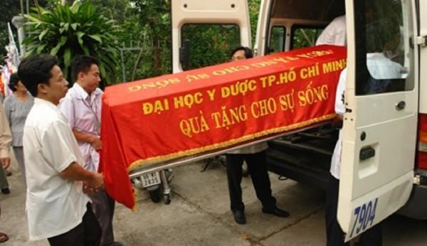 Hình ảnh trong đám tang cụ Tín. (ảnh gia đình cung cấp)