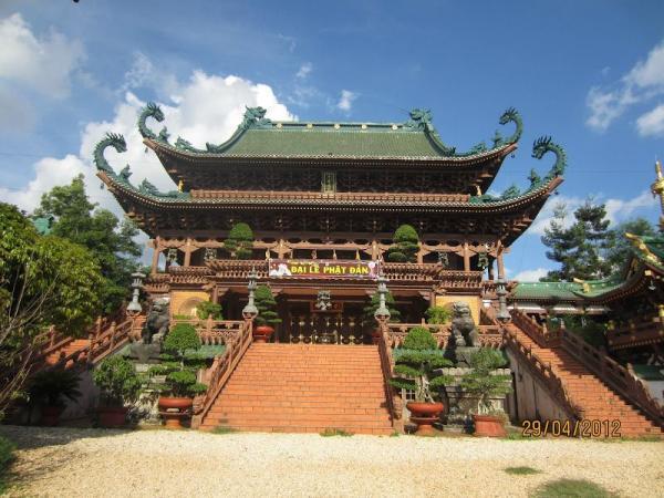 Điện chính chùa Minh Thành. (Nguồn: Internet)