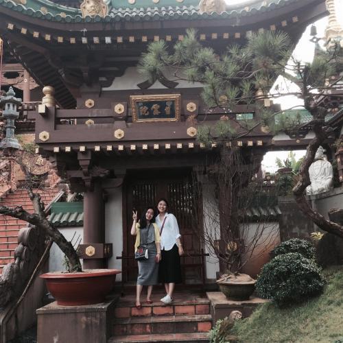 Ngôi chùa là niềm tự hào của người dân nơi phố núi. (Nguồn: Instagram)